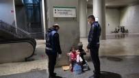 Kucağında Bebekle Duygu Sömürüsü Yapan Dilenci Yakalandı