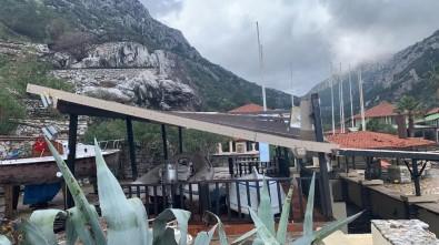 Marmaris'teki Fırtınadan En Çok Çiftlik Koyu Zarar Gördü