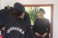 (Özel) Kayseri'nin İlk Kadın İlçe Jandarma Komutanı İşini 'Aşkla' Yapıyor