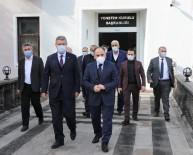 Türkşeker Genel Müdürü Mücahit Alkan'dan Başkan Akay'a Taziye Ziyareti