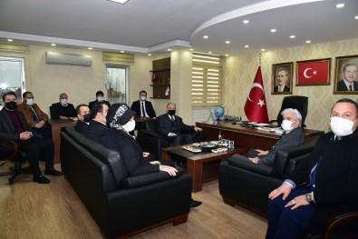 Vali Karadeniz'den Siyasi Parti İl Başkanlarına Ziyaret