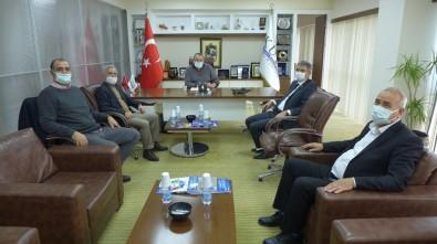 Aydın İl Tarım Ve Orman Müdürlüğü Yetkilileri KUTO Başkanı Akdoğan İle Görüştü