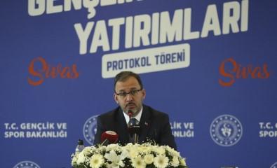 Bakan Kasapoğlu Açıklaması 'Sultan Şehir Sivas'ı Sporda Ve Gençlikte De Sultan Şehir Göreceğiz'