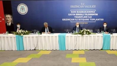 Erzincan'da Yıldırım Başkanlığında İstişare Toplantısı Düzenlendi