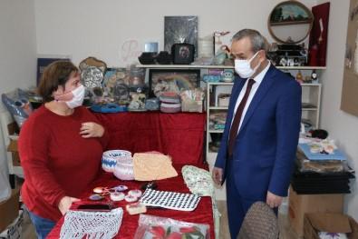 Ev Hanımlarının Yaptıkları El Emeği Ürünleri Tüketiciye Sunuyorlar