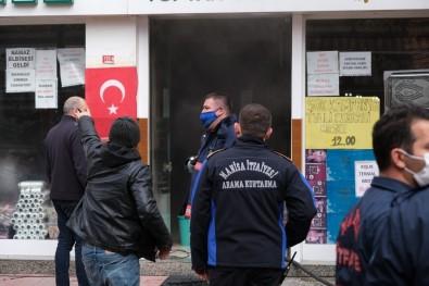 Manisa'da İş Yerinde Çıkan Yangın Korkuttu