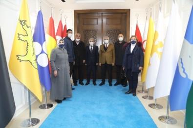 Türkmen Dostu Başkan Güder'e Teşekkür Ziyareti