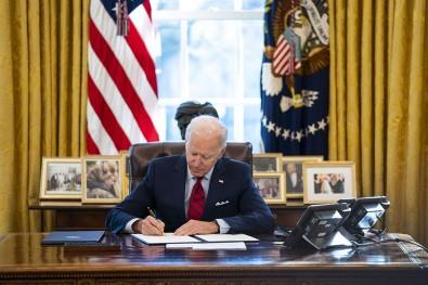 ABD Başkanı Biden 'Ekonomik Bakım Yasası' Kararnamesini İmzaladı