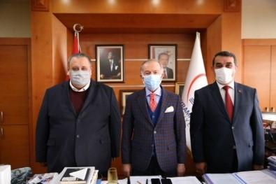 Başhekim Kocataş'tan Bayrampaşa Belediye Başkanı Aydıner'e Ziyaret
