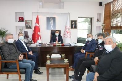 Başkan Cabbar'dan Gençlik Ve Spor İl Müdürüne Ziyaret