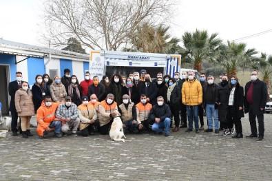 Belediye Yönetiminden Hayvan Bakım Merkezine Ziyaret