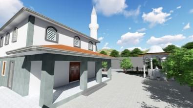 Depremde Hasar Gören Ve Sonrasında Yıkılan Cami Yeniden Yapılıyor