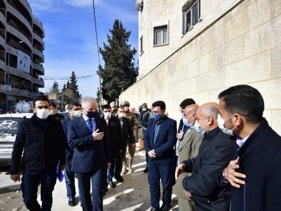 Gaziantep Valisi Gül, Cerablus'ta Sokakları Dolaştı, Vatandaşla Görüştü
