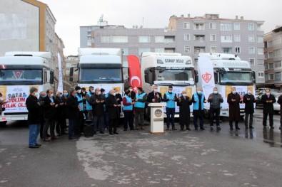 Kayseri'den 5 Tırlık Yardım Yola Çıktı