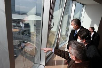 Sağlık Bakanı'ndan İnşaatı Tamamlanan Seyrantepe Hastanesi'ne Ziyaret