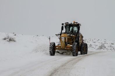 Talas'ta Kış Çalışmaları Kesintisiz Sürüyor