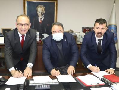 Turgutlu'da 2021 Yılı İyileştirme Zamları İçin İmzalar Atıldı