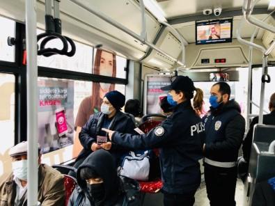 Van Polisi Kadınları KADES Hakkında Bilgilendirdi