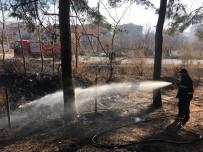 Bahçe Yangını Ormana Sıçramadan Söndürüldü