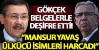 GÜNDEM ÖZEL - Melih Gökçek belgelerle deşifre etti! 'Mansur Yavaş ülkücü isimleri harcadı'