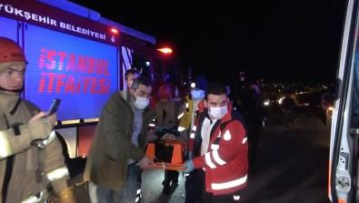 Arnavutköy'de Feci Kaza Açıklaması 2 Yaralı