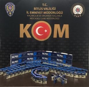 Bitlis'te 250 Paket Kaçak Sigara Ele Geçirildi