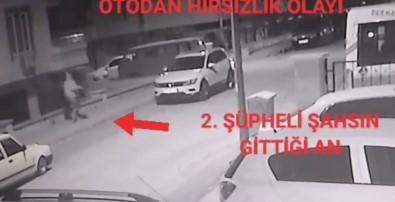 Müzik Seti Çalan 2 Hırsız Yakalandı