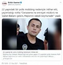 Emniyetten CHP'li Mahmut Tanal ve BirGün Gazetesi'nin 'polis memurunun mobbing nedeniyle intihar etti' iddiasına yalanlama!