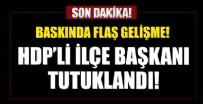 HDP Esenyurt ilçe binasına operasyonda yeni gelişme! Tutuklandı...