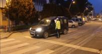 Çankırı'da 80 Saatlik Kısıtlamada 65 Kişiye Ceza