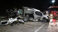 Elazığ'da Feci Kaza Açıklaması 2 Ölü, 3'Ü Ağır 5 Yaralı