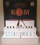 Kırşehir'de Sahte İçki Ve Kaçak Cinsel Uyarıcı Hap Operasyonu