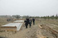 Vali Arslantaş, 'Yöresel Ürünler Pazarı' İnşaat Çalışmalarını İnceledi