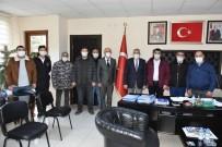 Başkan Bozkurt'a MHP İnönü Teşkilatı Üyelerini Konuk Etti
