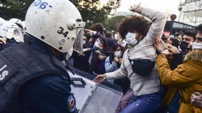 Boğaziçi Üniversitesi'ndeki polislere saldırıya sert tepki!