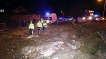 Bolu'da Kontrolden Çıkan Otomobil Ağaca Çarptı Açıklaması 1 Yaralı
