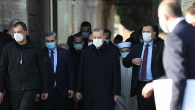 Erdoğan'dan gazetecilere: Hayırdır burada ne işiniz var?
