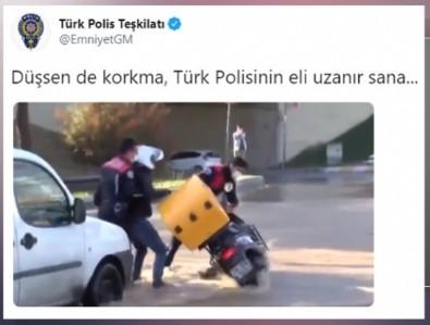 'Katil polis' sloganı atanlar utansın! EGM'den anlamlı paylaşım