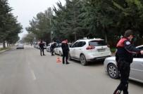 Burdur'da 1 Haftada 605 Araç Sürücüsüne Ceza