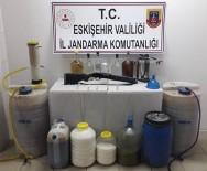 Kaçak Alkol Üretilen Eve Jandarma Baskını Açıklaması 1 Gözaltı