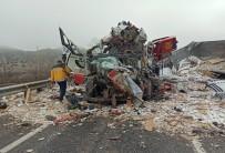 Yozgat'ta Korkunç Trafik Kazası Açıklaması 3 Ölü