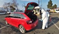 Altınordu'da Araçlar Ücretsiz Dezenfekte Ediliyor