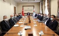 Amasya'da Kamu Hizmetleri Ve Yatırımları Masaya Yatırıldı