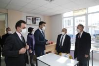 Başkan Büyükkılıç, Sıfır Vakaya Düşen Sarız'da Kütüphane Açtı, Muhtarlara Seslendi