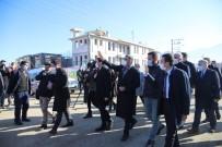CHP Heyeti, Deprem Bölgesi Elazığ'da Çalışmaları Yerinde İnceledi