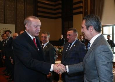 Erdoğan, Ali Koç'u kabul etti!