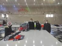 Faaliyeti Durdurulan Düğün Salonu Tekstil Fabrikasına Dönüştürüldü, 120 Kişi İş Sahibi Oldu