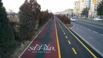 Nevşehir'de Yenilenen Yürüyüş Yolu Ve Bisiklet Yolu Hizmete Açıldı
