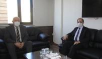 Rektör Coşkun'dan Başkan Pekmezci'ye Ziyaret