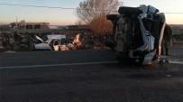 Siverek'te Trafik Kazası Açıklaması 8 Yaralı